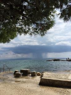 A brewing storm not too far away.