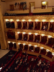 The theatre was beautiful.