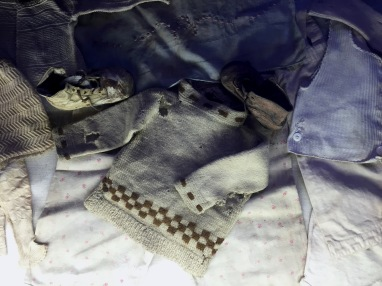 Children's clothes.