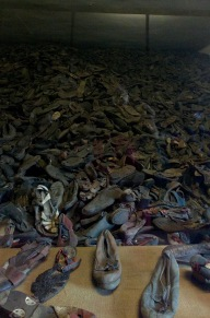 There was this amount of shoes, multiplied by 3.