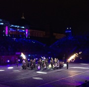 Just a little fire splurting out of their instruments. No biggie.