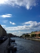 St Petersburg has got tons of rivers flowing through it. This also means tons of beautiful riverside views like this.
