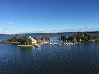One of the few islands around Helsinki