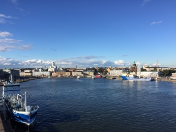One last glimpse of Helsinki