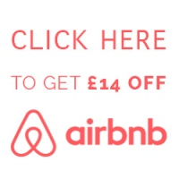 Click here to get £14 off Airbnb