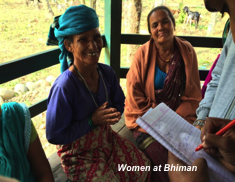 Women at Bhiman
