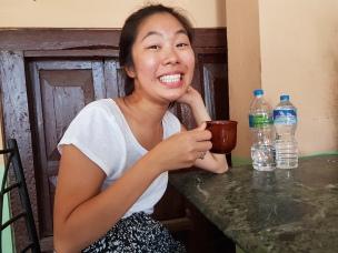 My first masala chai in Nepal.