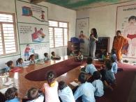 Classroom in Bhiman