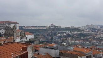View of Porto just before the rain