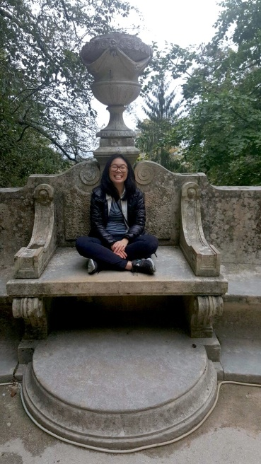 A quick stop at a castle in Sintra