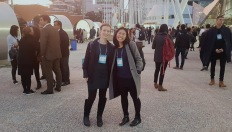 Lucy and I at the Web Summit in Liabon, my first ever tech conference.