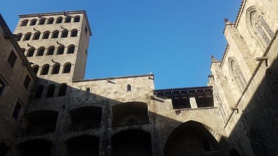 Barcelona's Medeival Buildings