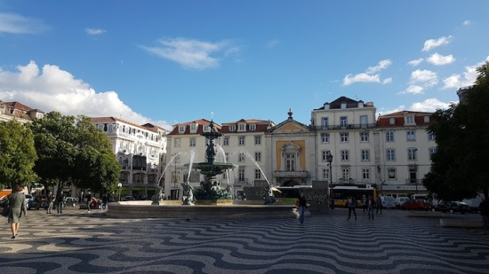 LSB - Square with fountain